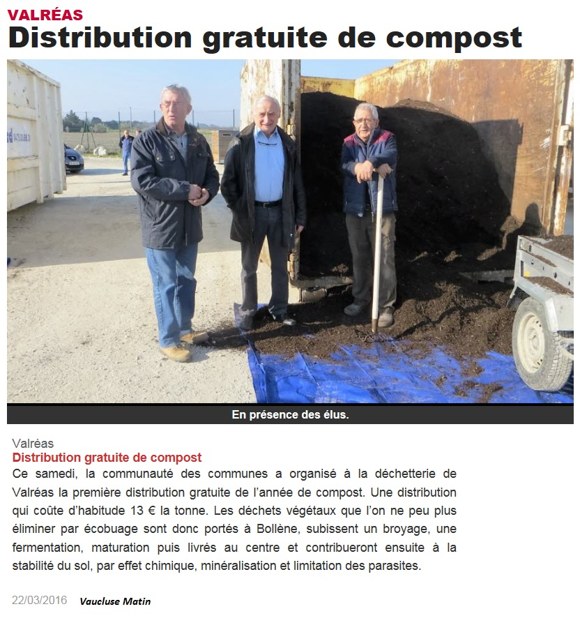 22032016 distribution compost