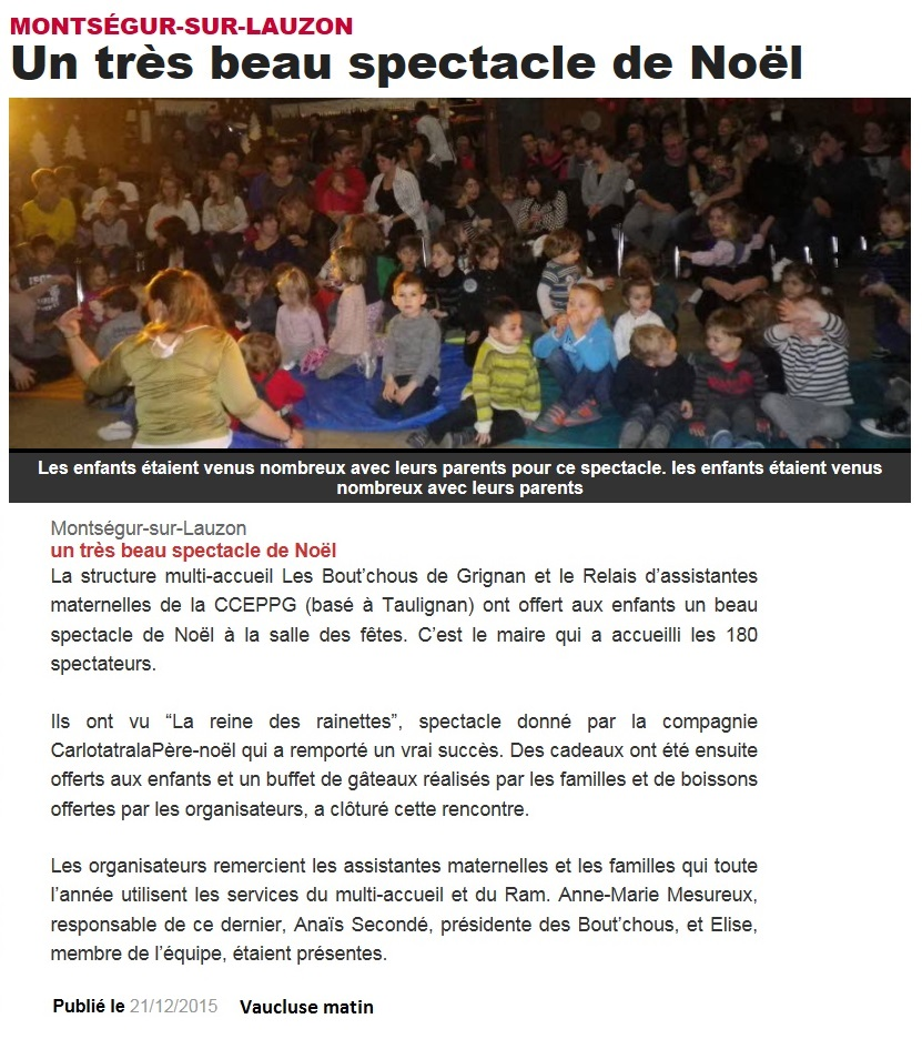 21122015 spectacle noel bout chous